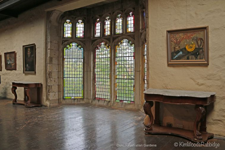 This lovely room is the venue for various events - recitals, weddings, funerals - and everything!