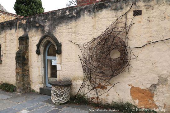 A wonderful web by florist and Sculptor Wona Bae.