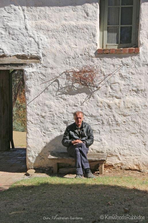 Resident artist Damien Skipper is the grandson of Mervyn Skipper - one of Montsalvat's founders, and son of sculptor Matcham Skipper.