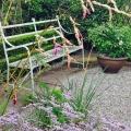 a quiet spot in thegarden
