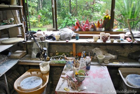 Artisan's studio ©Kim Woods Rabbidge