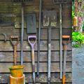 Gardener's tools©Kim WoodsRabbidge