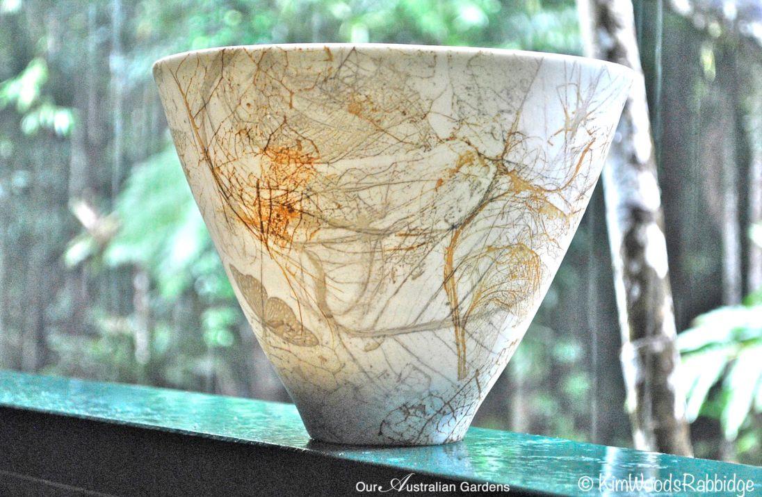 One of Mollie's translucent porcelain bowls.