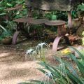 Bespoke garden seat ©Kim WoodsRabbidge