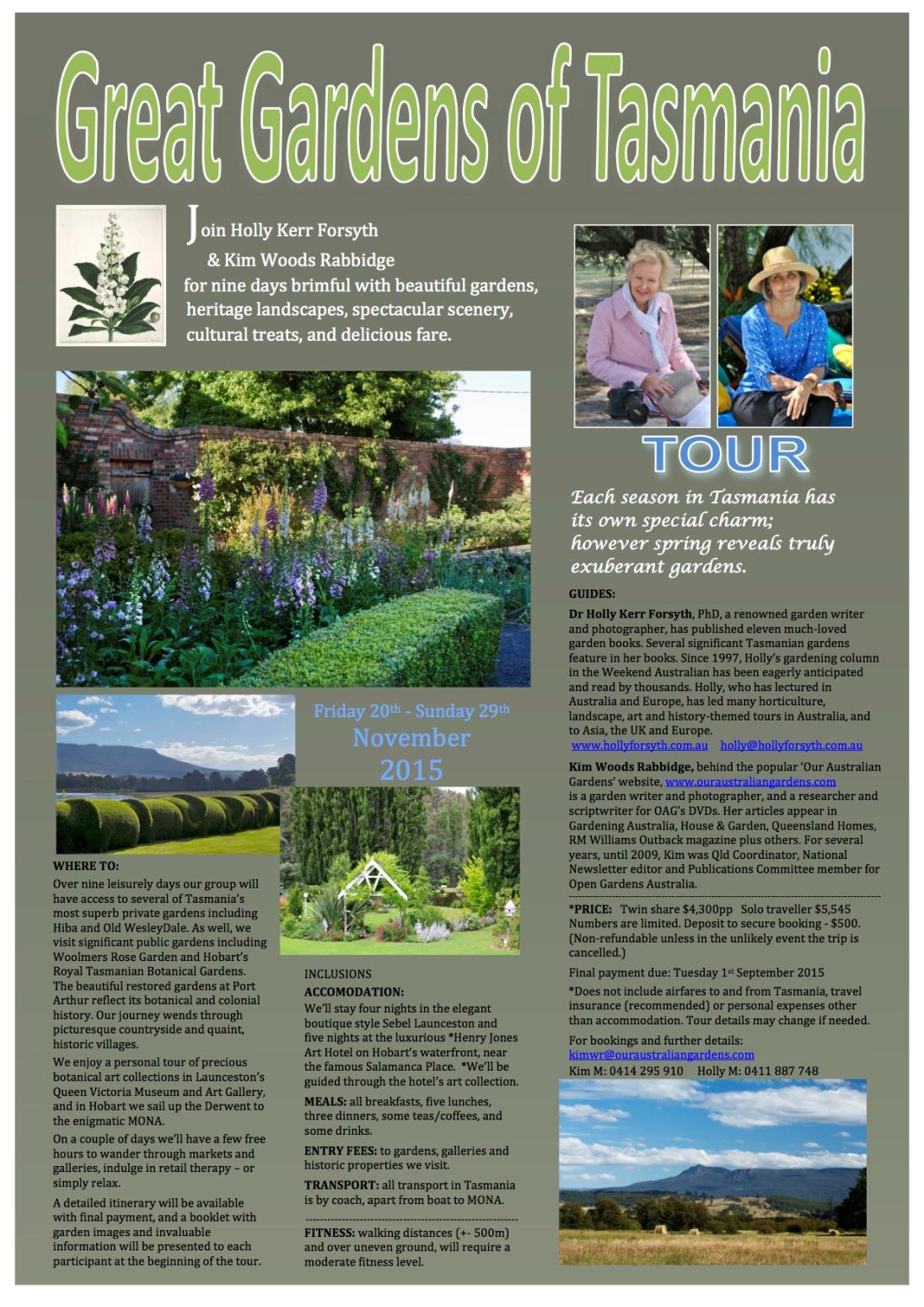 Great Gardens of Tasmania