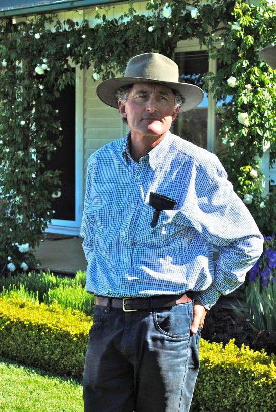 Landscape designer Michael Bligh