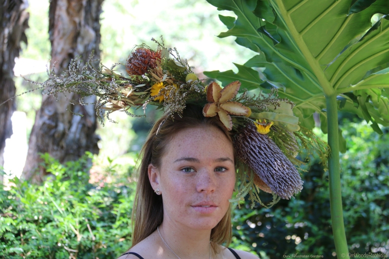 Headpiece - 'Wild Thing Too'.