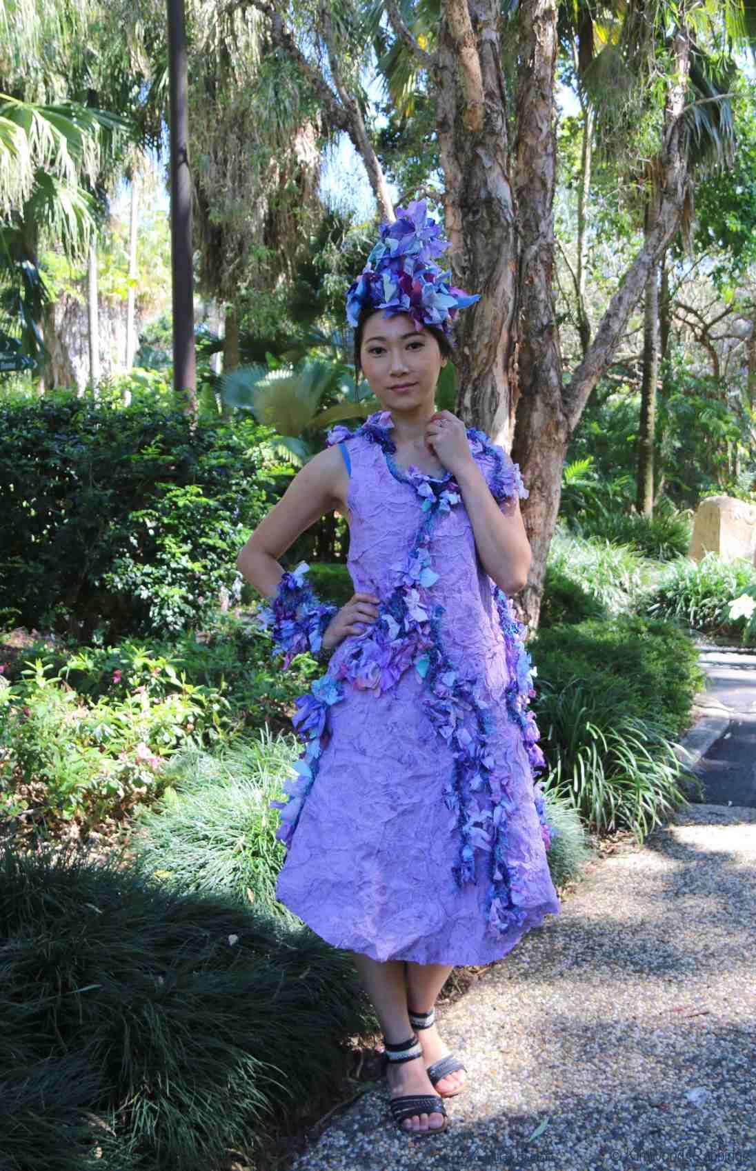 Tricia Smout's 'Purple Profusion'.